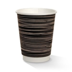 12oz Double Wall Cups - B&W Print
